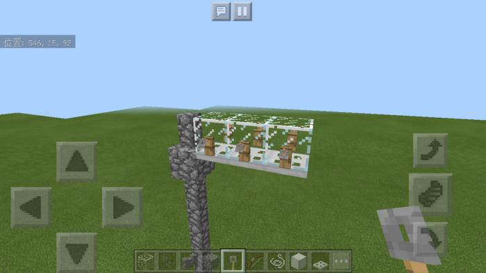 minecraft-utility-pole_10 電柱 を作るとリアリティが増す!?電柱の作り方公開中!【マイクラ】