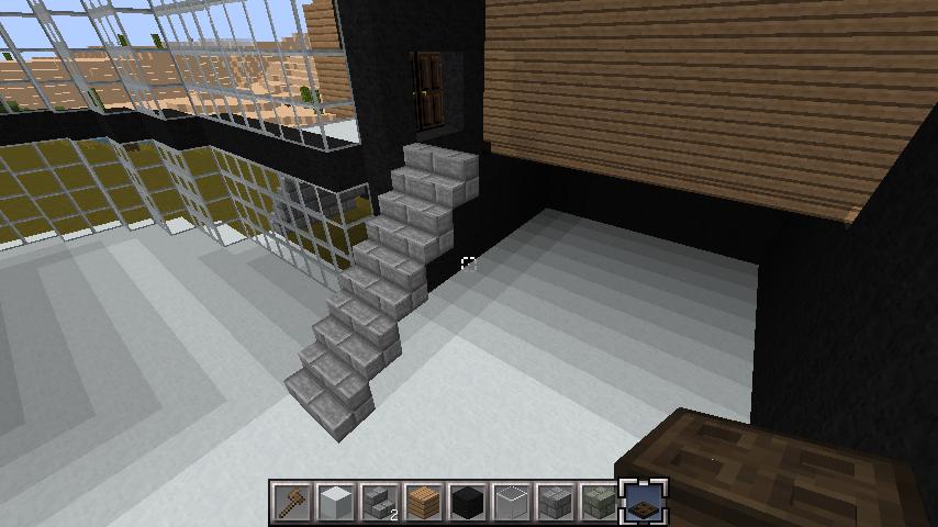 minecraft-house-interior 大きな一軒 家  の簡単な作り方。家を分割して作る。- 内装 編-| マイクラ家図鑑