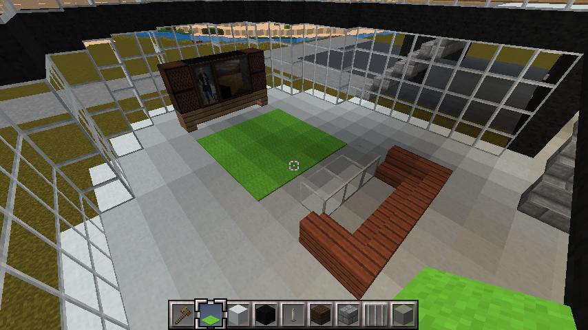 minecraft-house-interior_23 大きな一軒 家  の簡単な作り方。家を分割して作る。- 内装 編-| マイクラ家図鑑