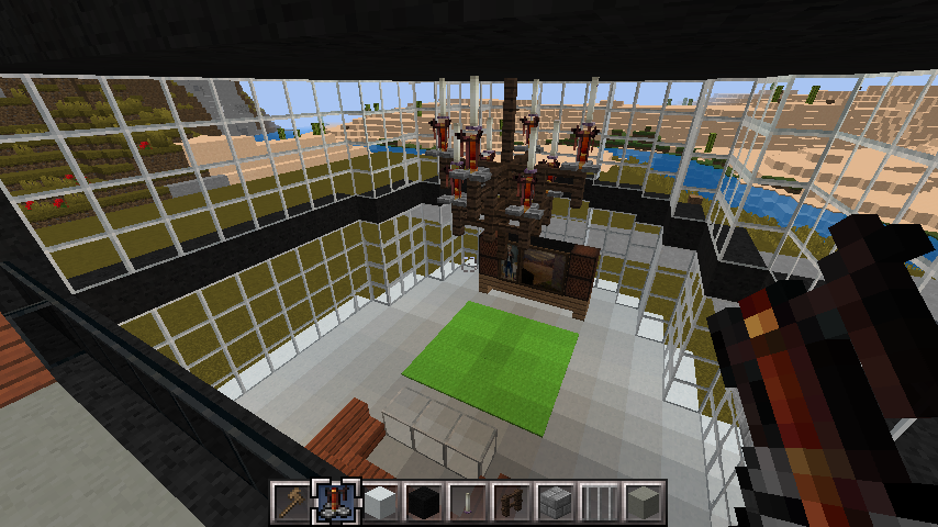 minecraft-house-interior_25 大きな一軒 家  の簡単な作り方。家を分割して作る。- 内装 編-| マイクラ家図鑑
