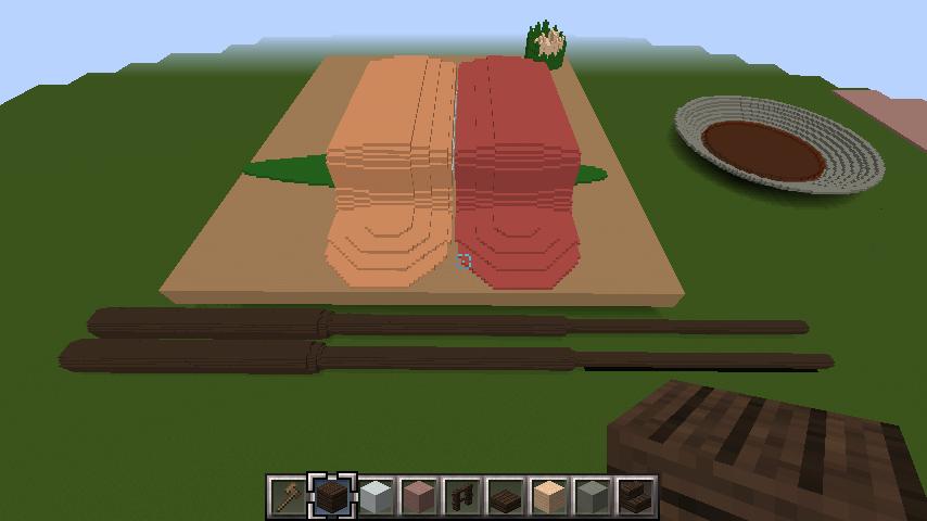minecraft-sushi_83 寿司 をマイクラで再現しよう!寿司の作り方講座 | マイクラ家図鑑