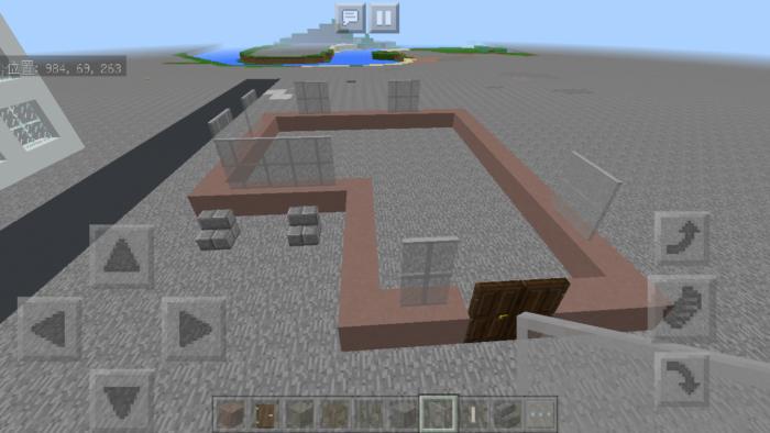 minecraft-two-storied-house_05 2階建ての家 をレトロっぽく作る方法   マイクラ家図鑑