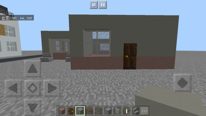 minecraft-two-storied-house_07 2階建ての家 をレトロっぽく作る方法   マイクラ家図鑑