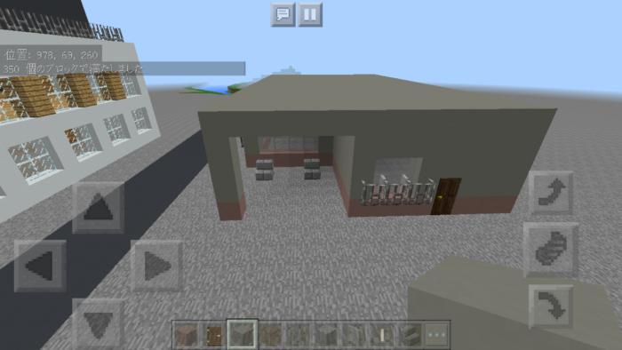 minecraft-two-storied-house_11 2階建ての家 をレトロっぽく作る方法   マイクラ家図鑑