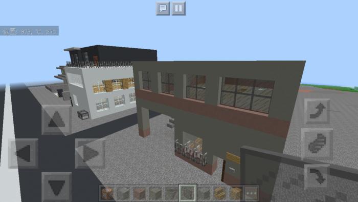 minecraft-two-storied-house_38 2階建ての家 をレトロっぽく作る方法   マイクラ家図鑑