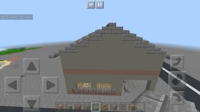 minecraft-two-storied-house_41 2階建ての家 をレトロっぽく作る方法   マイクラ家図鑑