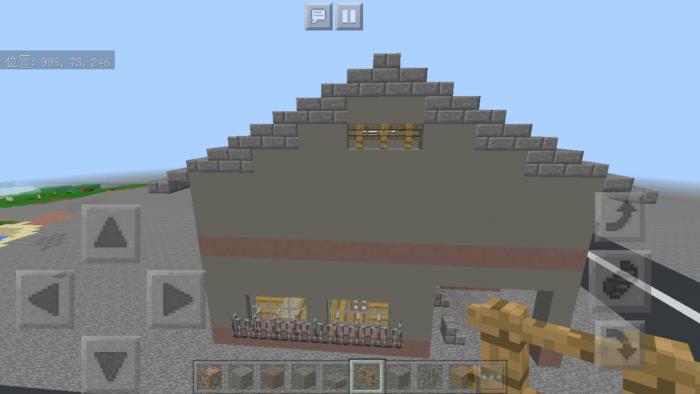 minecraft-two-storied-house_42 2階建ての家 をレトロっぽく作る方法   マイクラ家図鑑