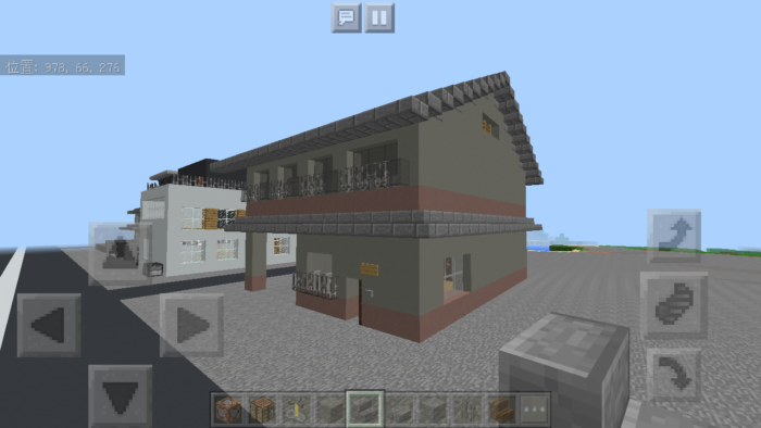 minecraft-two-storied-house_47 2階建ての家 をレトロっぽく作る方法   マイクラ家図鑑