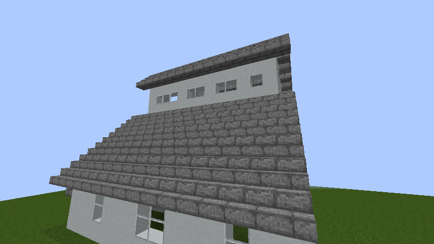 mincraft-roof_74 屋根ならこの記事におまかせ!置き方から和風,洋風に合わせた作り方まで全部紹介します。-マイクラ家図鑑