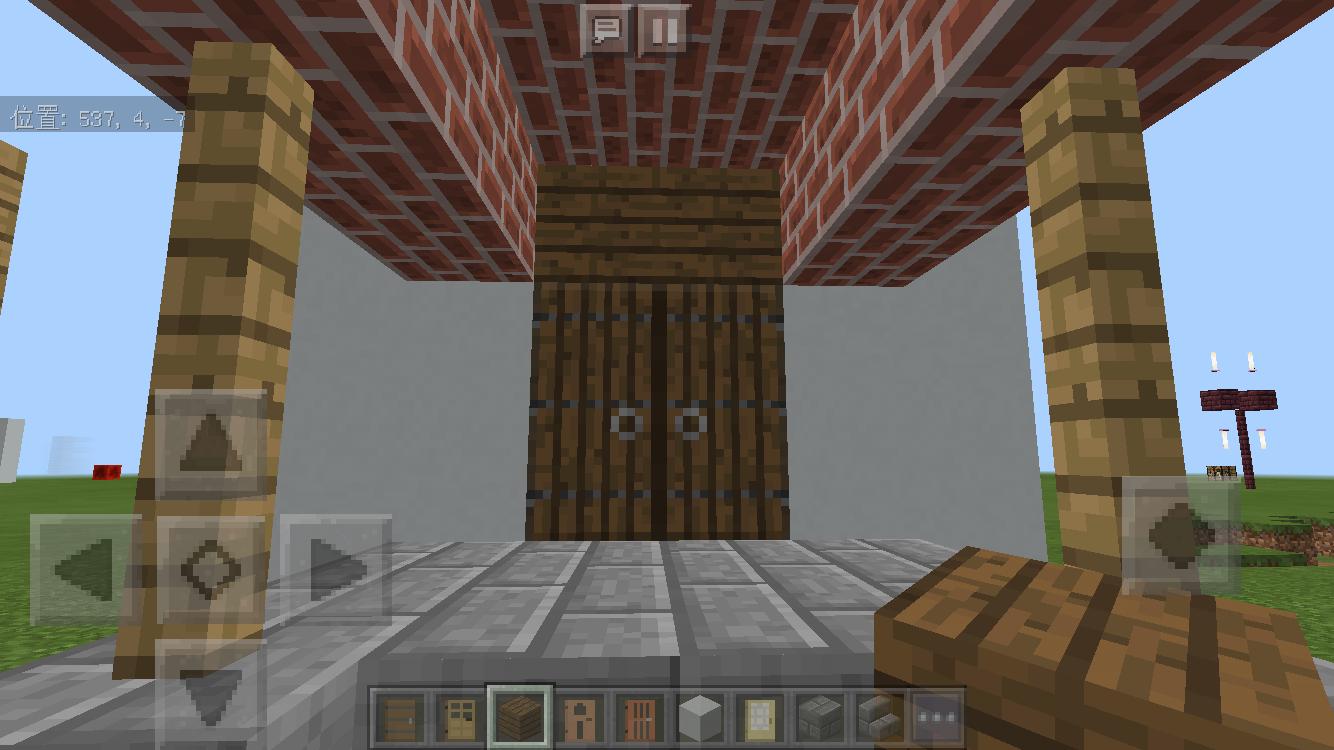 minecraft-door_11 ドア 周りをオシャレにする! 玄関 のデザイン16個を一気に紹介します。|マイクラ家図鑑