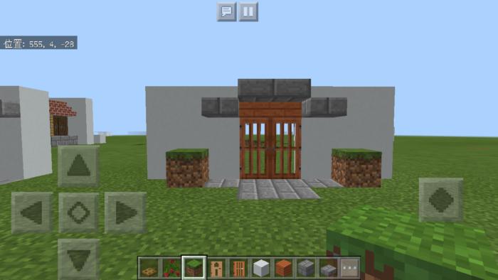 minecraft-door_18 ドア 周りをオシャレにする! 玄関 のデザイン16個を一気に紹介します。|マイクラ家図鑑