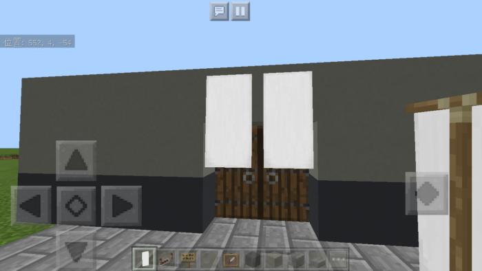 minecraft-door_22 ドア 周りをオシャレにする! 玄関 のデザイン16個を一気に紹介します。|マイクラ家図鑑