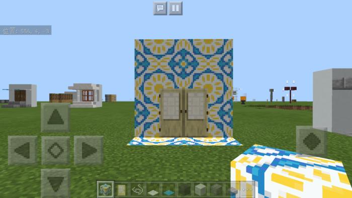 minecraft-door_24 ドア 周りをオシャレにする! 玄関 のデザイン16個を一気に紹介します。|マイクラ家図鑑