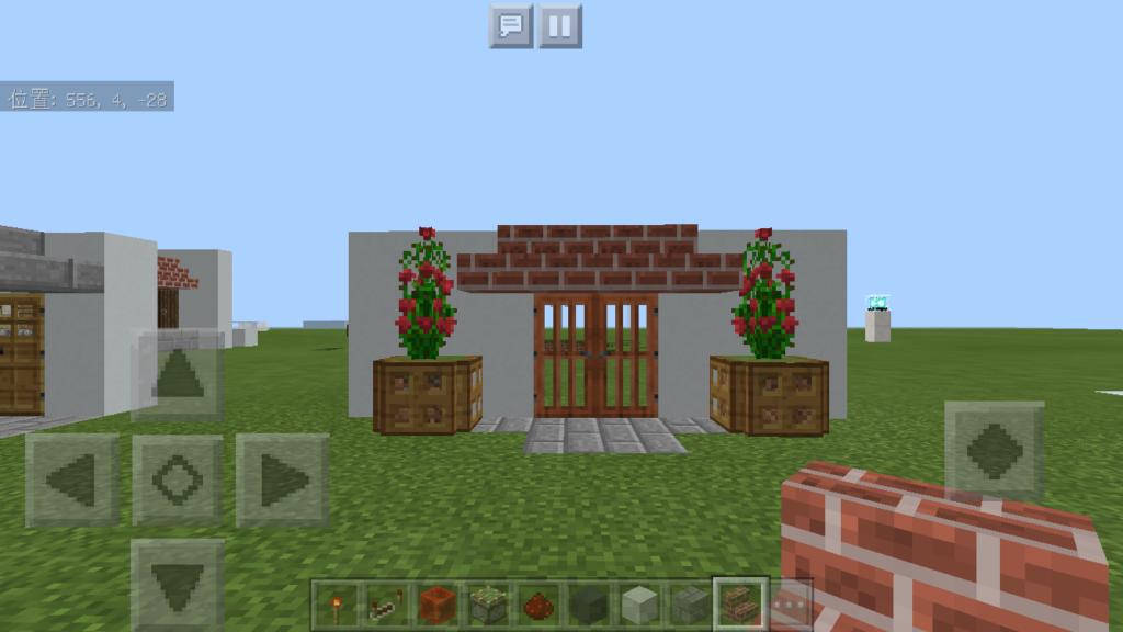 minecraft-door_28-1024x576 ドア 周りをオシャレにする! 玄関 のデザイン16個を一気に紹介します。|マイクラ家図鑑