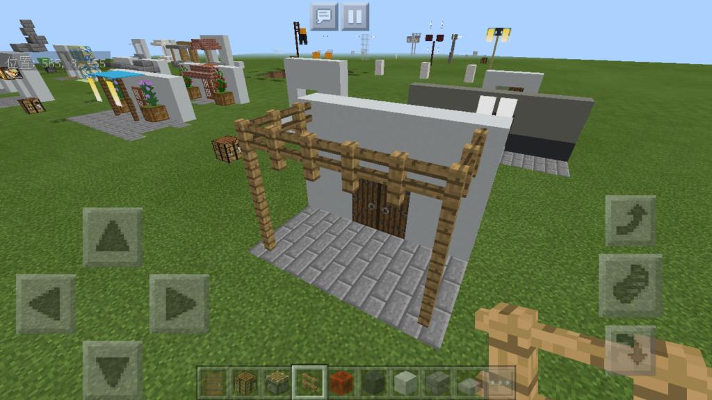 minecraft-door_47-1024x576 ドア 周りをオシャレにする! 玄関 のデザイン16個を一気に紹介します。|マイクラ家図鑑