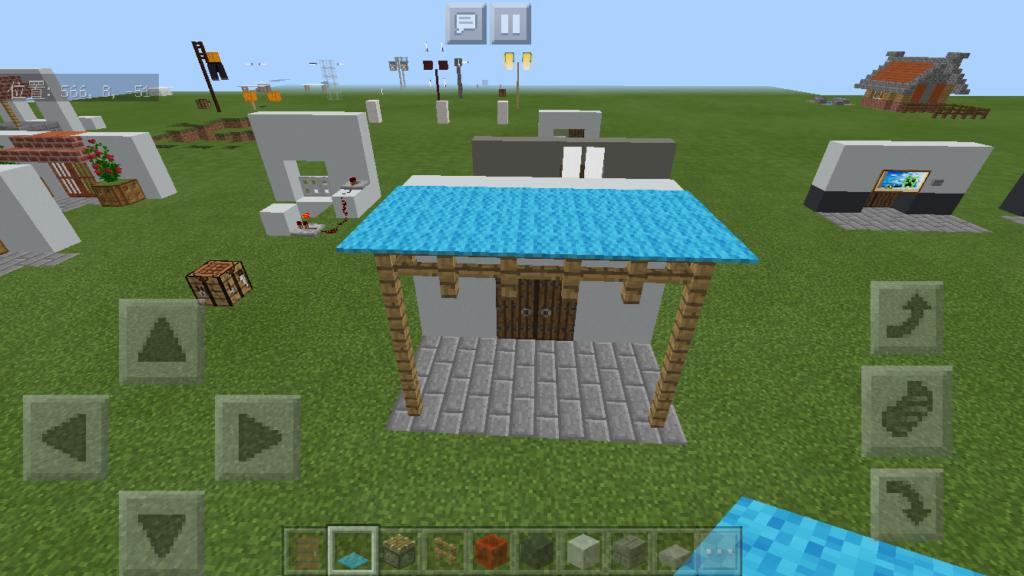 minecraft-door_47_03-1024x576 ドア 周りをオシャレにする! 玄関 のデザイン16個を一気に紹介します。|マイクラ家図鑑