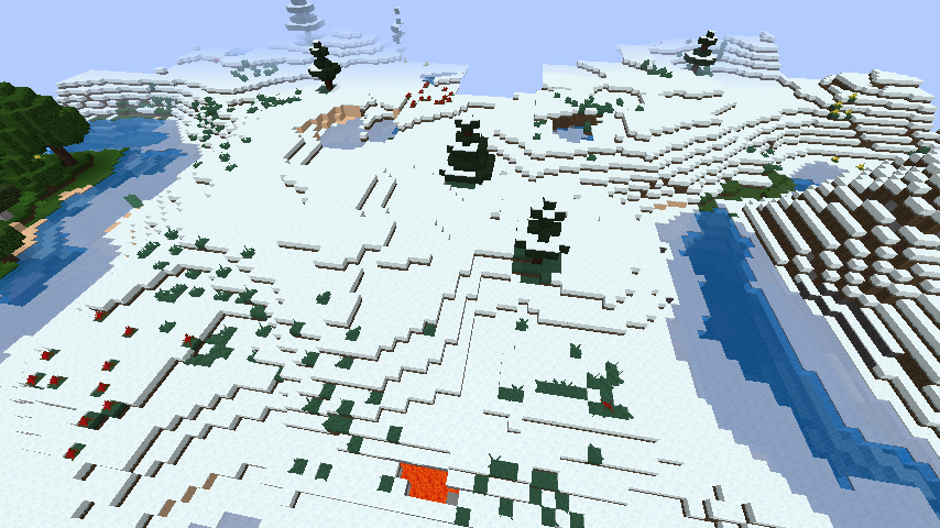 minecraft-merrychristmas クリスマス の装飾ならおまかせ!クリスマスツリーから家の飾りつけまで全部お教えします。-マイクラ家図鑑