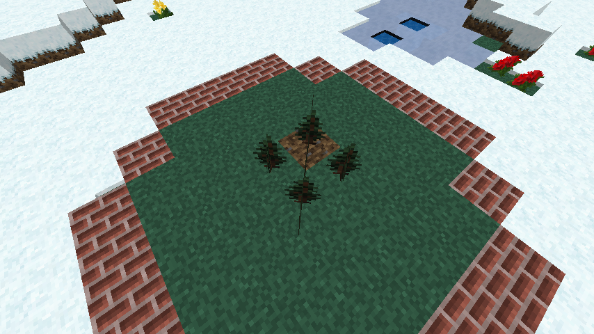 minecraft-merrychristmas_04 クリスマス の装飾ならおまかせ!クリスマスツリーから家の飾りつけまで全部お教えします。-マイクラ家図鑑