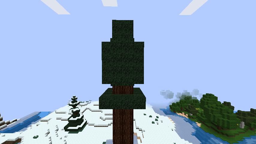 minecraft-merrychristmas_06 クリスマス の装飾ならおまかせ!クリスマスツリーから家の飾りつけまで全部お教えします。-マイクラ家図鑑