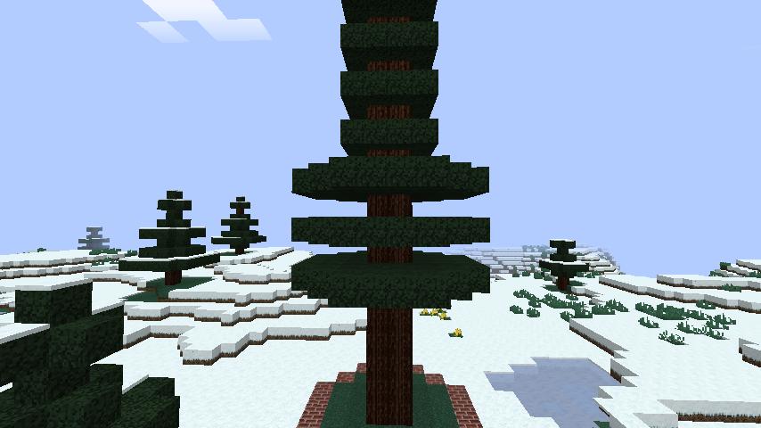 minecraft-merrychristmas_09 クリスマス の装飾ならおまかせ!クリスマスツリーから家の飾りつけまで全部お教えします。-マイクラ家図鑑