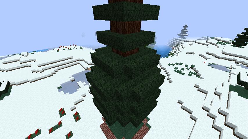 minecraft-merrychristmas_10 クリスマス の装飾ならおまかせ!クリスマスツリーから家の飾りつけまで全部お教えします。-マイクラ家図鑑