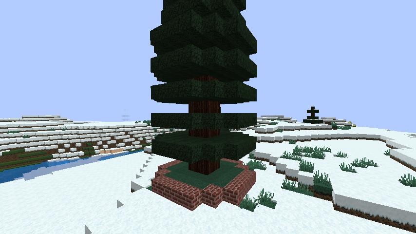 minecraft-merrychristmas_17 クリスマス の装飾ならおまかせ!クリスマスツリーから家の飾りつけまで全部お教えします。-マイクラ家図鑑