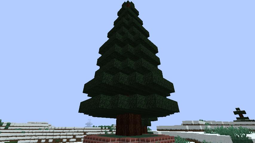 minecraft-merrychristmas_18 クリスマス の装飾ならおまかせ!クリスマスツリーから家の飾りつけまで全部お教えします。-マイクラ家図鑑