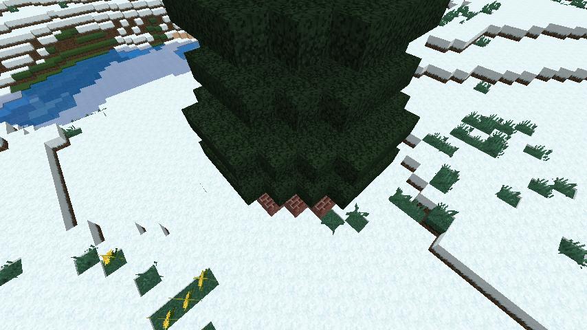 minecraft-merrychristmas_19 クリスマス の装飾ならおまかせ!クリスマスツリーから家の飾りつけまで全部お教えします。-マイクラ家図鑑