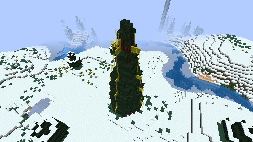 minecraft-merrychristmas_30 クリスマス の装飾ならおまかせ!クリスマスツリーから家の飾りつけまで全部お教えします。-マイクラ家図鑑