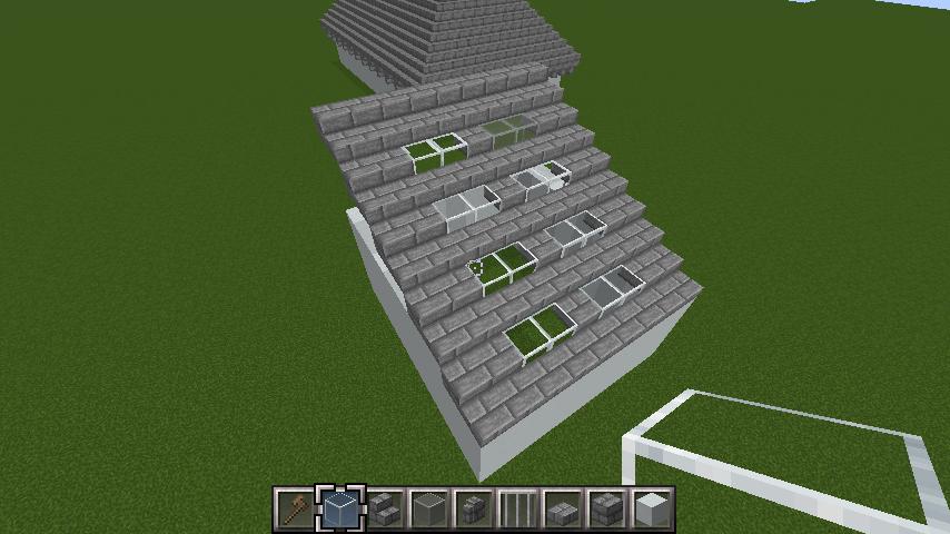 minecraft-roof_04 屋根ならこの記事におまかせ!置き方から和風,洋風に合わせた作り方まで全部紹介します。-マイクラ家図鑑