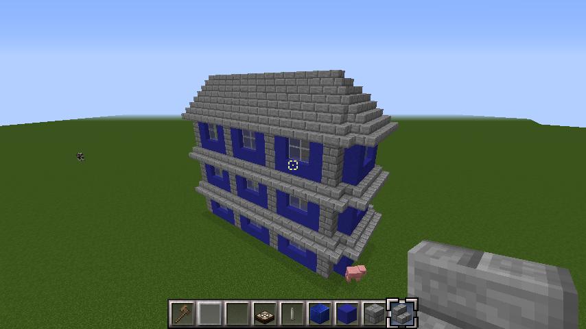 minecraft-roof_06 屋根ならこの記事におまかせ!置き方から和風,洋風に合わせた作り方まで全部紹介します。-マイクラ家図鑑