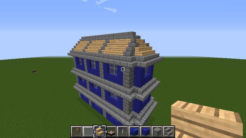 minecraft-roof_07 屋根ならこの記事におまかせ!置き方から和風,洋風に合わせた作り方まで全部紹介します。-マイクラ家図鑑