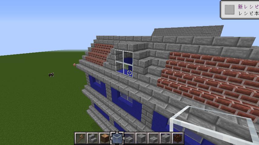 minecraft-roof_09 屋根ならこの記事におまかせ!置き方から和風,洋風に合わせた作り方まで全部紹介します。-マイクラ家図鑑