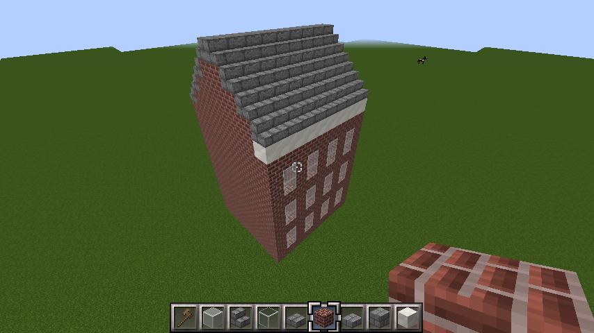 minecraft-roof_10 屋根ならこの記事におまかせ!置き方から和風,洋風に合わせた作り方まで全部紹介します。-マイクラ家図鑑