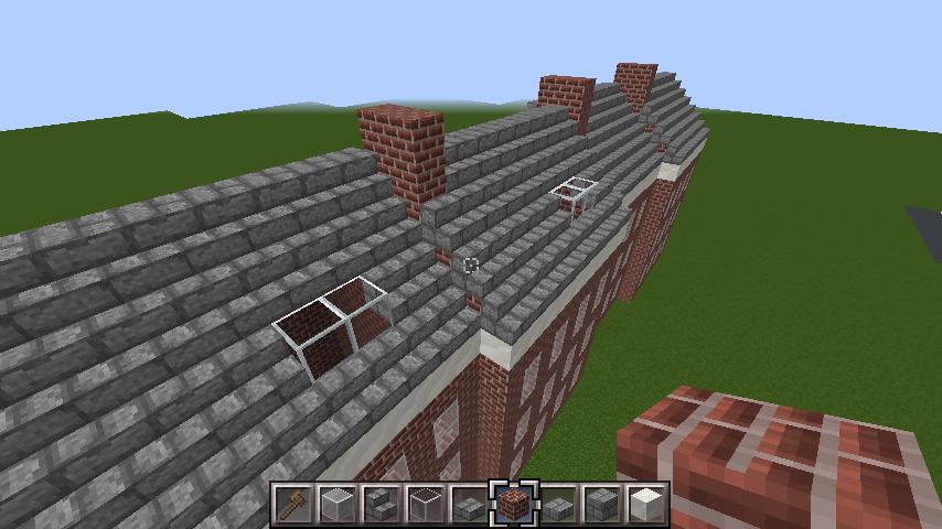 minecraft-roof_13 屋根ならこの記事におまかせ!置き方から和風,洋風に合わせた作り方まで全部紹介します。-マイクラ家図鑑