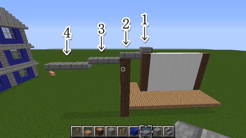 minecraft-roof_15 屋根ならこの記事におまかせ!置き方から和風,洋風に合わせた作り方まで全部紹介します。-マイクラ家図鑑