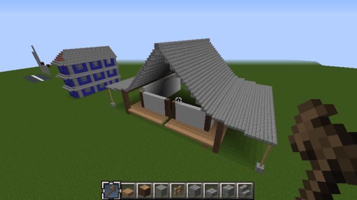 minecraft-roof_21 屋根ならこの記事におまかせ!置き方から和風,洋風に合わせた作り方まで全部紹介します。-マイクラ家図鑑