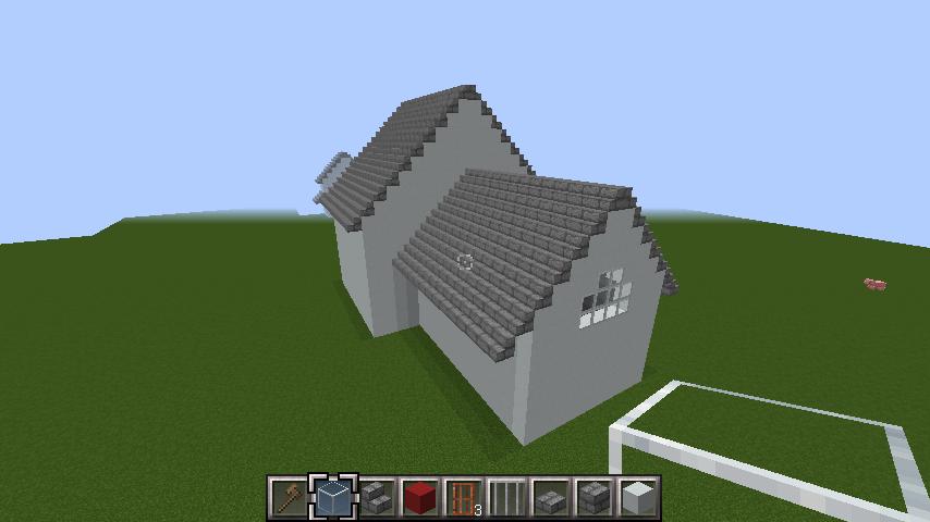 minecraft-roof_65 屋根ならこの記事におまかせ!置き方から和風,洋風に合わせた作り方まで全部紹介します。-マイクラ家図鑑