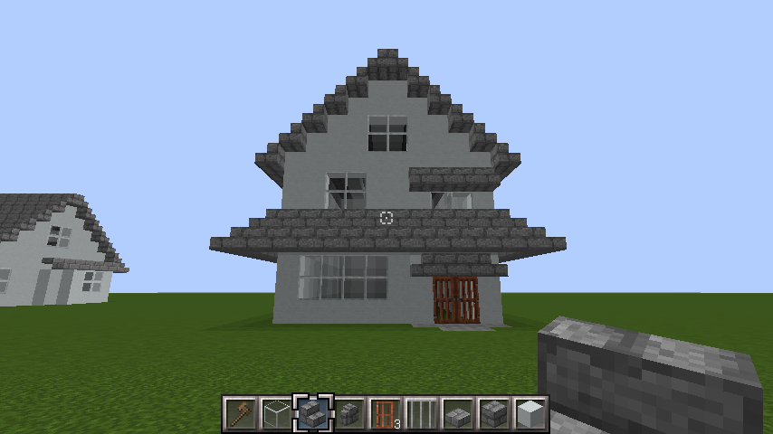 minecraft-roof_66 屋根ならこの記事におまかせ!置き方から和風,洋風に合わせた作り方まで全部紹介します。-マイクラ家図鑑
