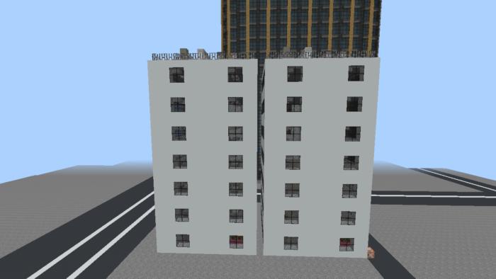 minecraft-city_23 大都市 を一瞬で作る方法を紹介。ビルをマイクラで建てまくる。【コマンド】 | マイクラ家図鑑