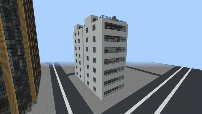 minecraft-city_24 大都市 を一瞬で作る方法を紹介。ビルをマイクラで建てまくる。【コマンド】 | マイクラ家図鑑