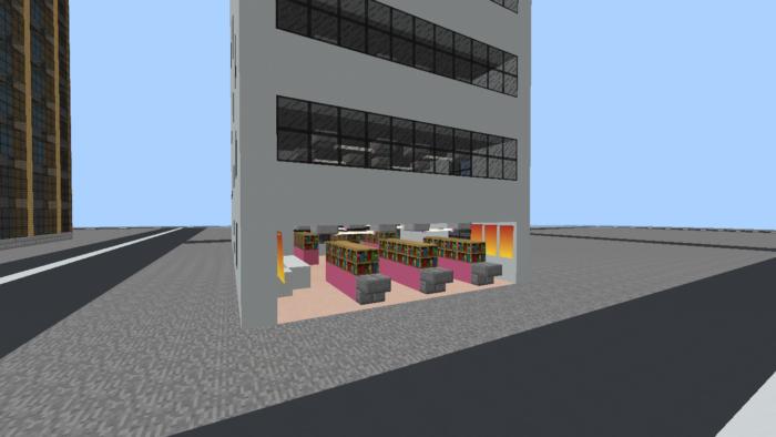 minecraft-city_25 大都市 を一瞬で作る方法を紹介。ビルをマイクラで建てまくる。【コマンド】 | マイクラ家図鑑