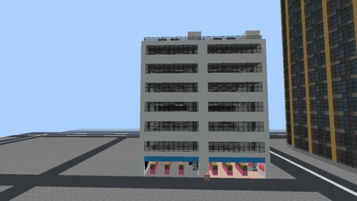 minecraft-city_27 大都市 を一瞬で作る方法を紹介。ビルをマイクラで建てまくる。【コマンド】 | マイクラ家図鑑