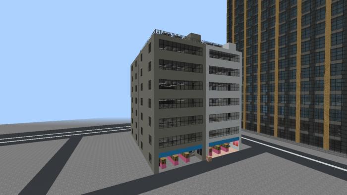 minecraft-city_28 大都市 を一瞬で作る方法を紹介。ビルをマイクラで建てまくる。【コマンド】 | マイクラ家図鑑