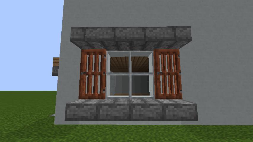 2018-02-02_16.33.31 窓をマイクラでかっこよく作る!窓の種類と作り方大公開! | マイクラ家図鑑