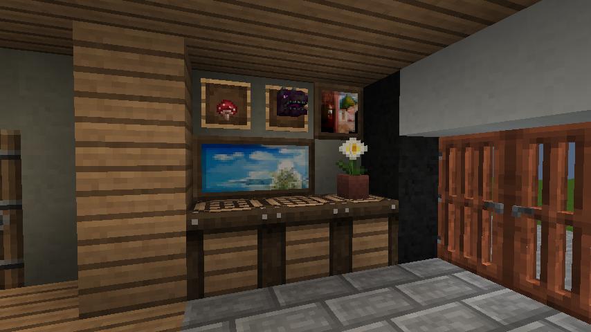 minecraft-furniture_44 家具 が家の良さを決める!マイクラで家具の作り方教えます。| マイクラ家図鑑