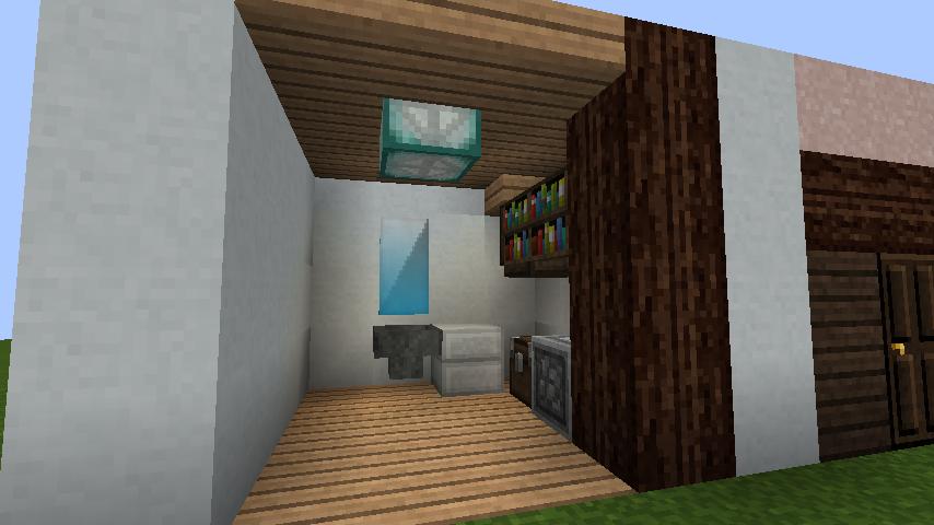minecraft-house_17 【マイクラ】家を設計図からオシャレに作る!最新の作り方を大公開!