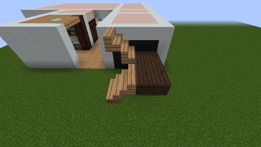 minecraft-house_21 【マイクラ】家を設計図からオシャレに作る!最新の作り方を大公開!