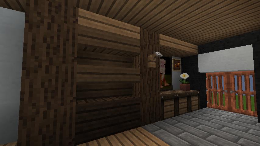 minecraft-house_25 【マイクラ】家を設計図からオシャレに作る!最新の作り方を大公開!