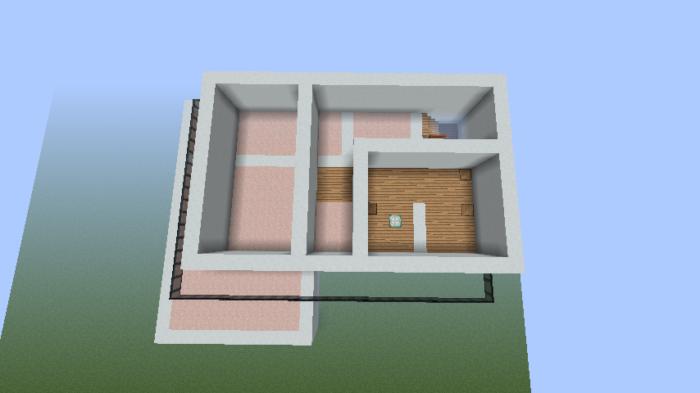 minecraft-house_27 【マイクラ】家を設計図からオシャレに作る!最新の作り方を大公開!